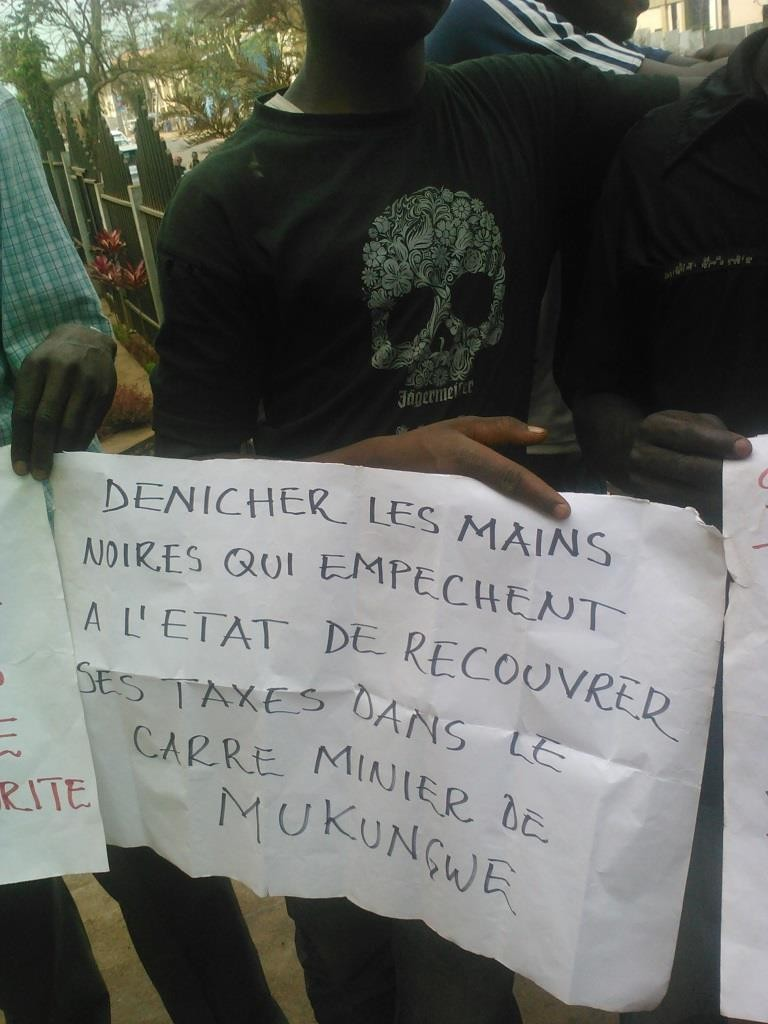 Sit-in creuseurs à Bukavu (suite1)